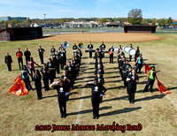 James Monroe Marching Band 2010