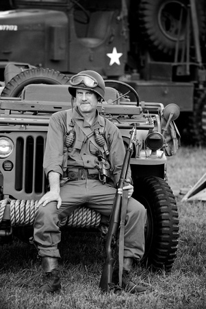 WWII Era US Army Soldier